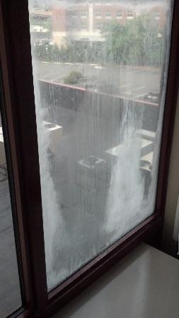 blown window seal