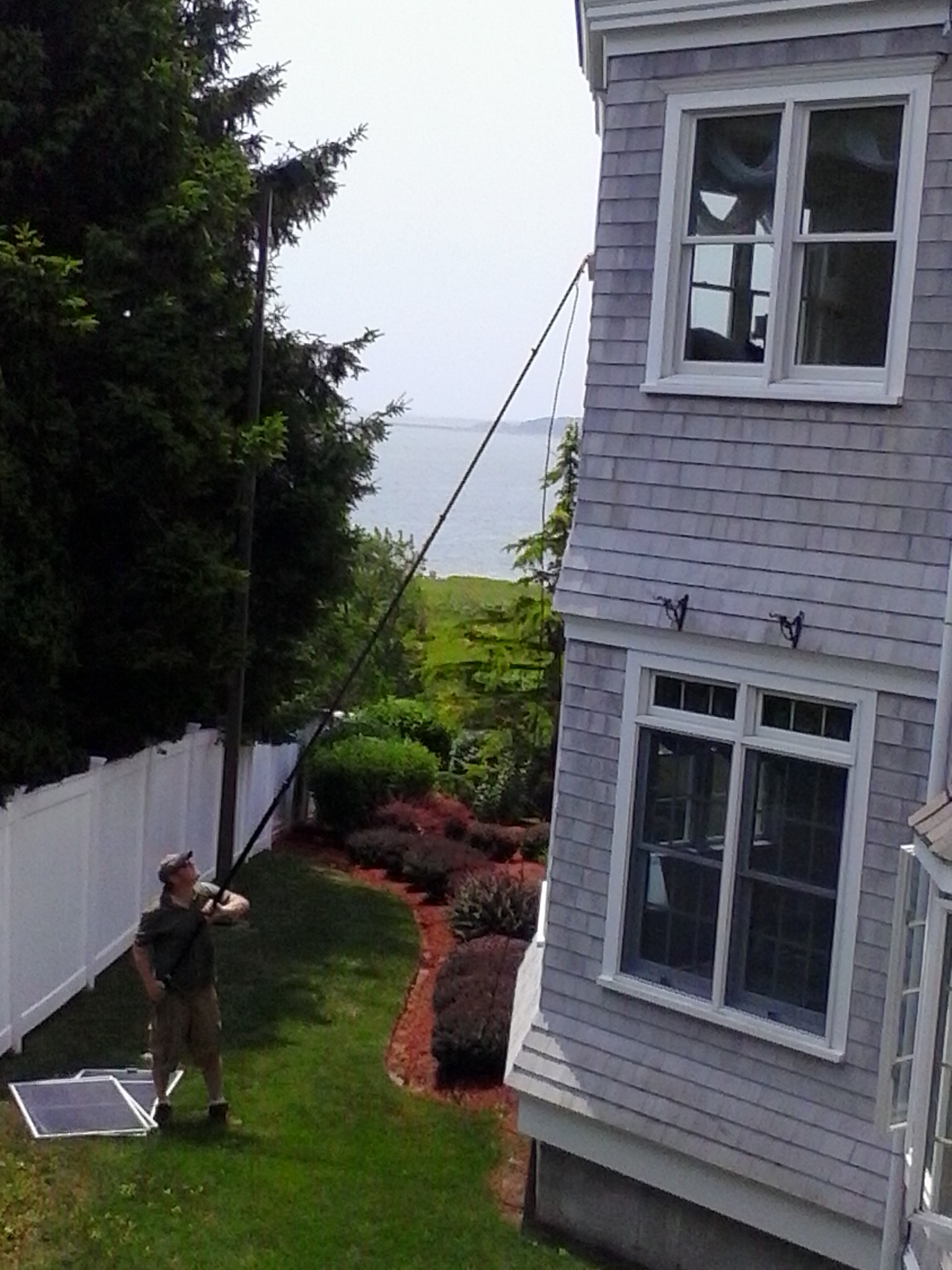 Onset window cleaning