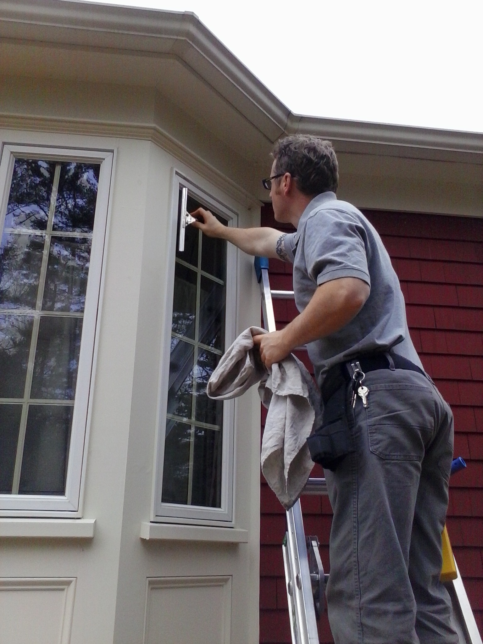 Window cleaning services cape cod