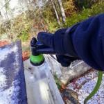 down spout flushing