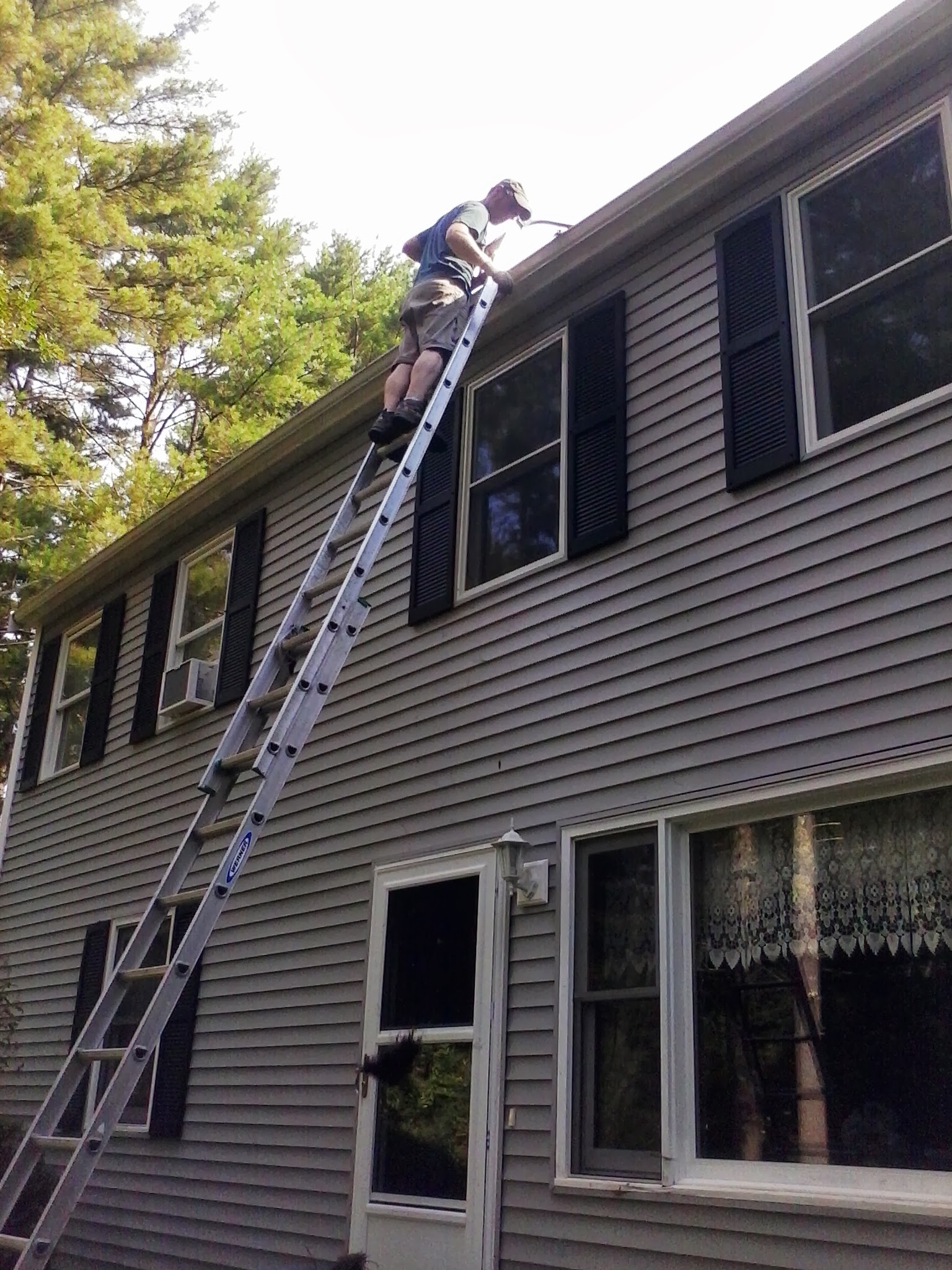 gutter cleaning, Cape Cod