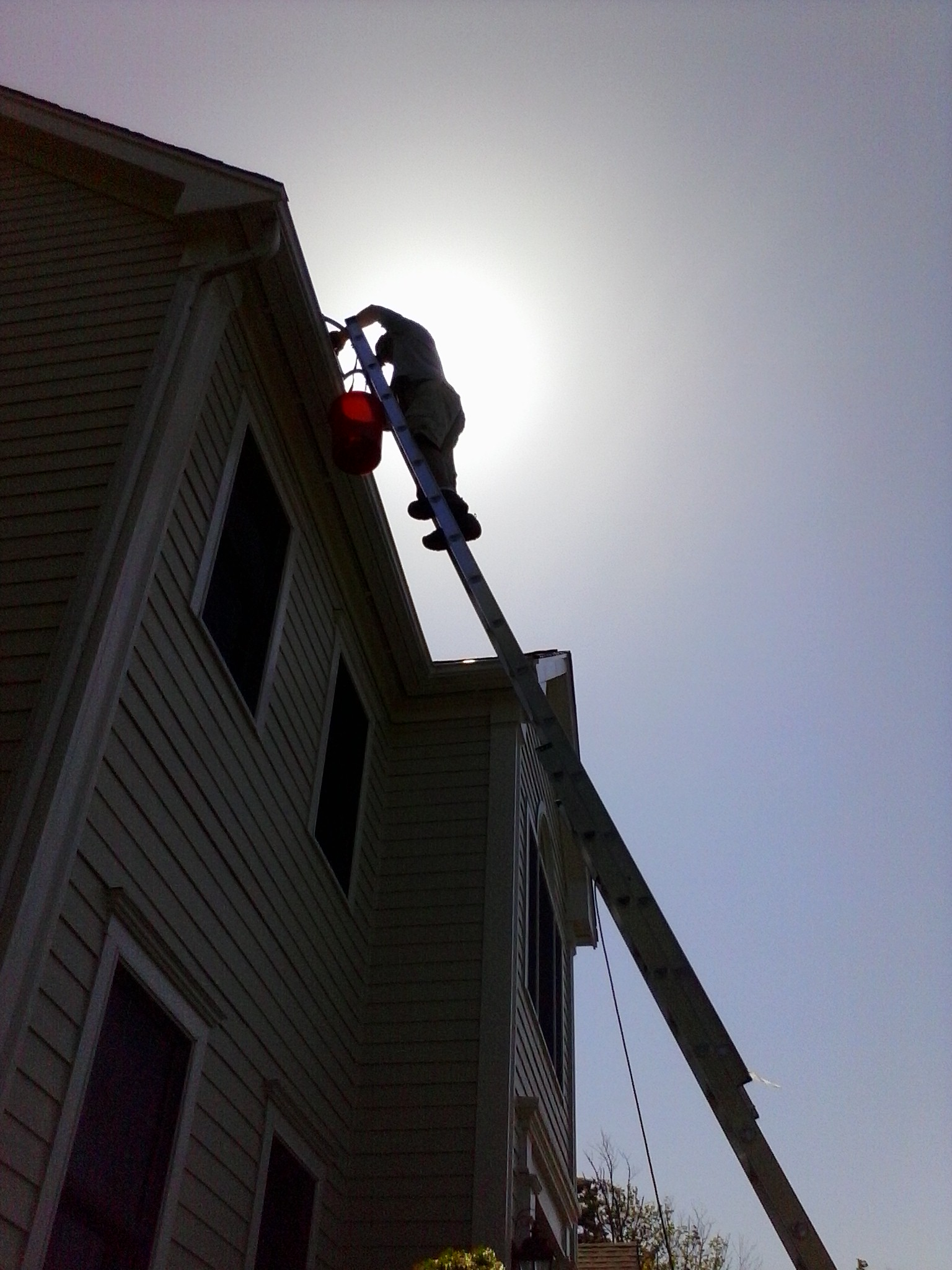 gutter cleaning, south shore