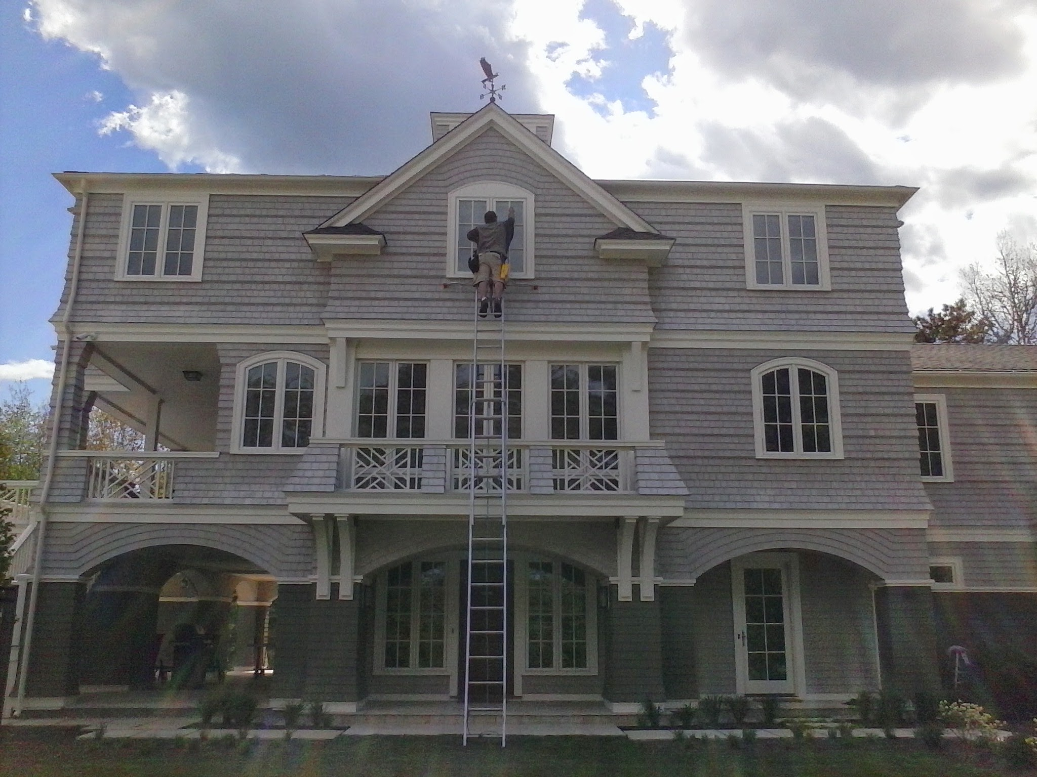Marion, MA window cleaning