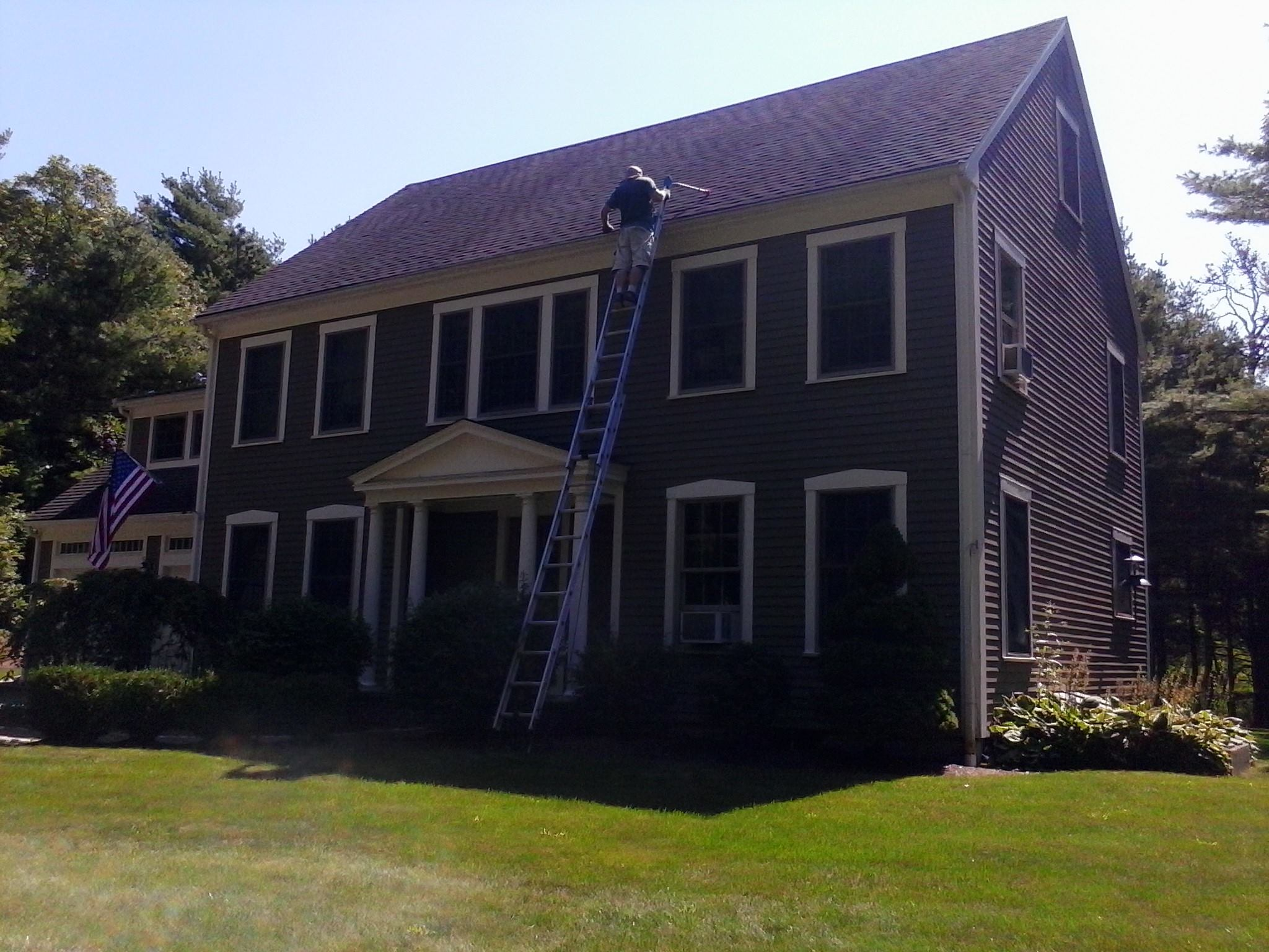 Plymouth, gutter cleaning