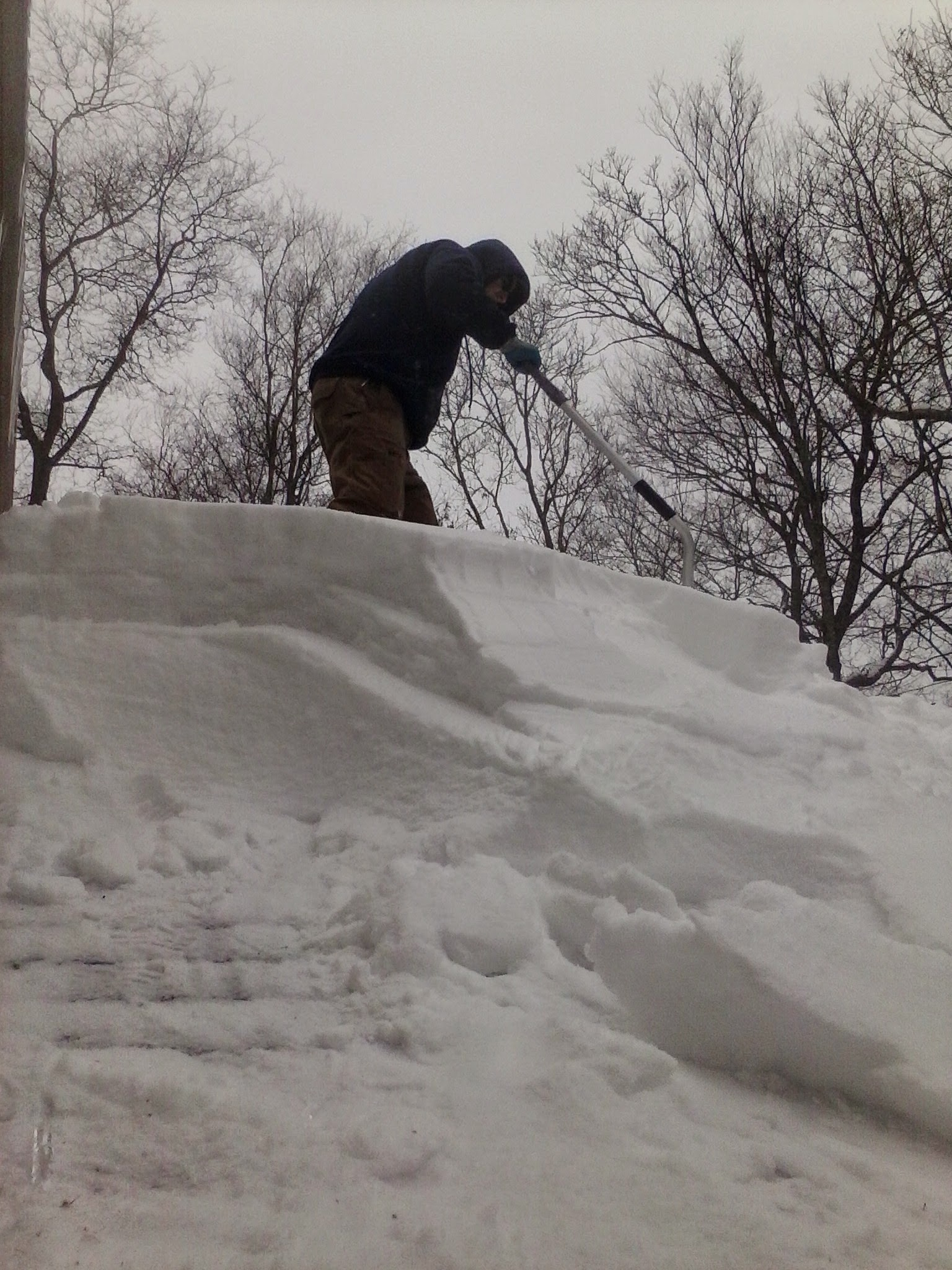 roof snow removal, Lakeville