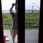 window cleaning, Marion