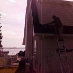 Onset gutter cleaning