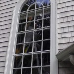 French pane windows, Marion
