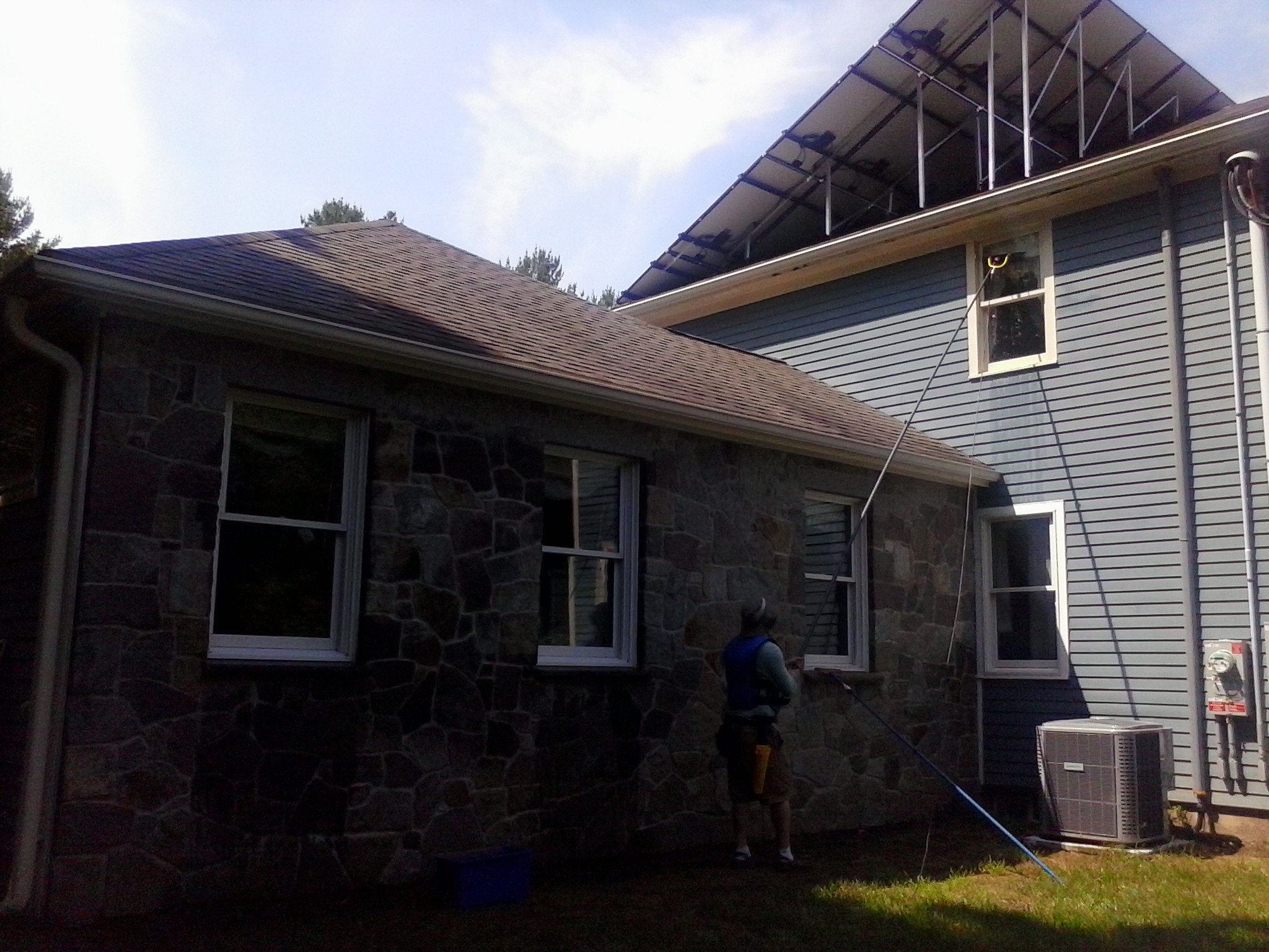 window cleaning, Lakeville