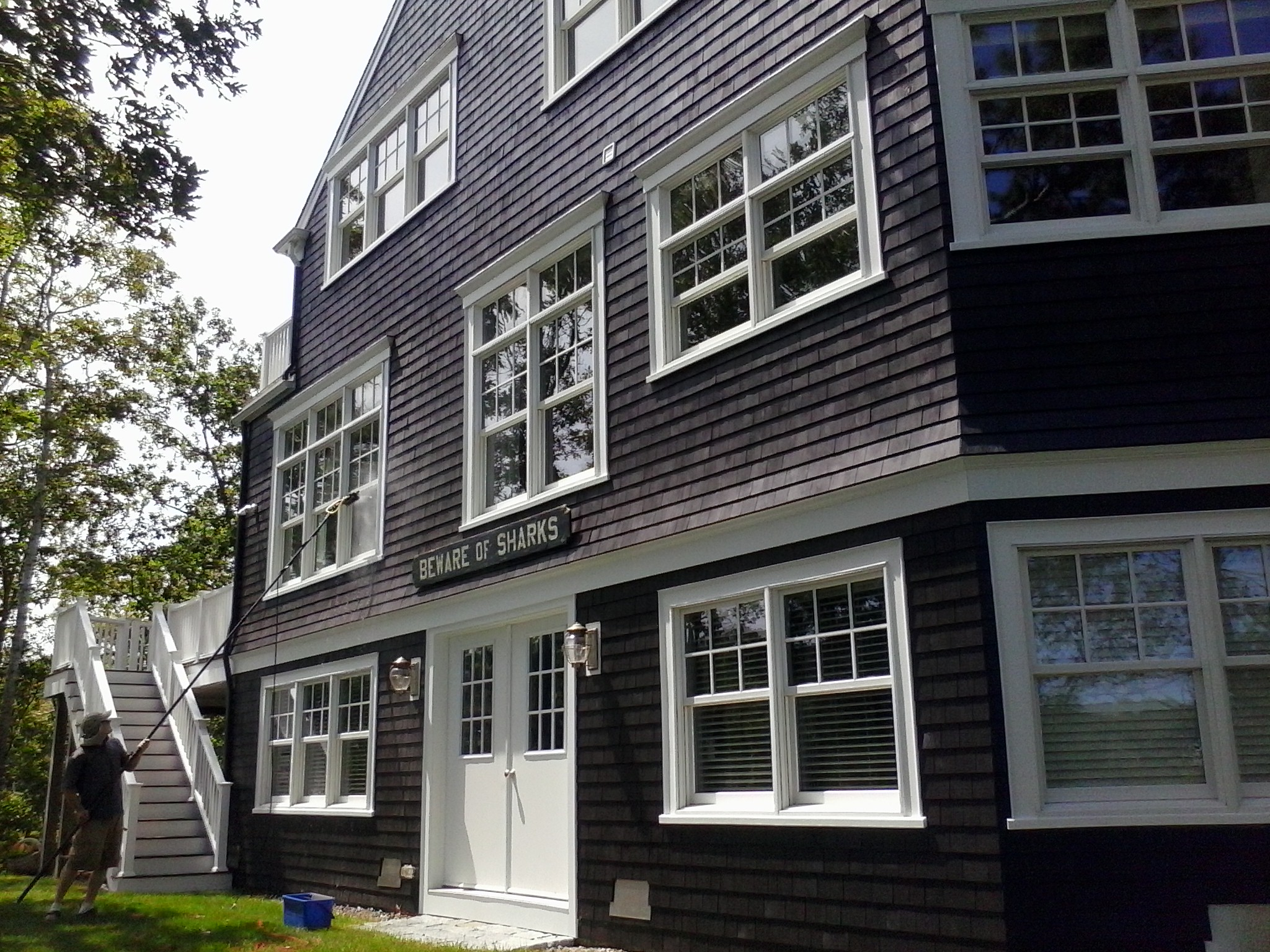 window cleaning, Falmouth