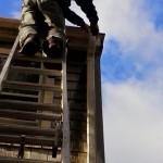 Downspout repair