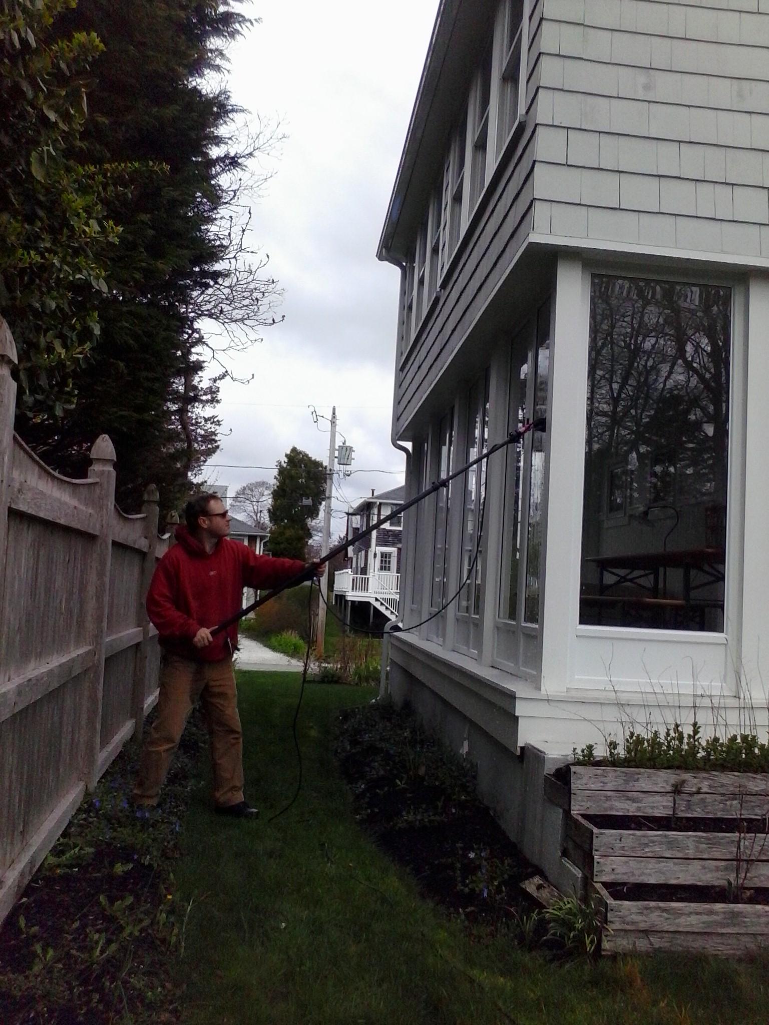 Pocasset, window washing