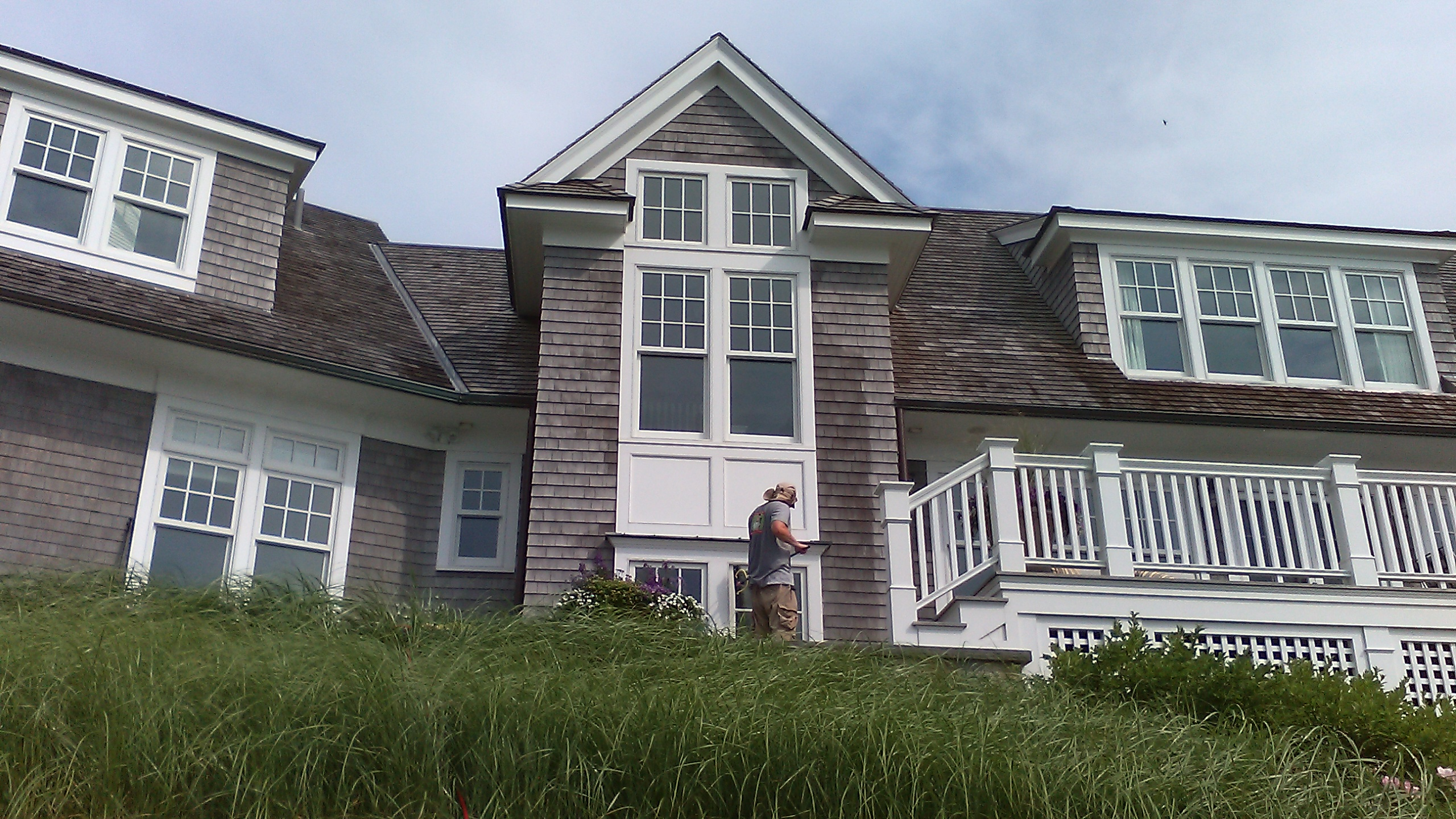 Window washing in Falmouth