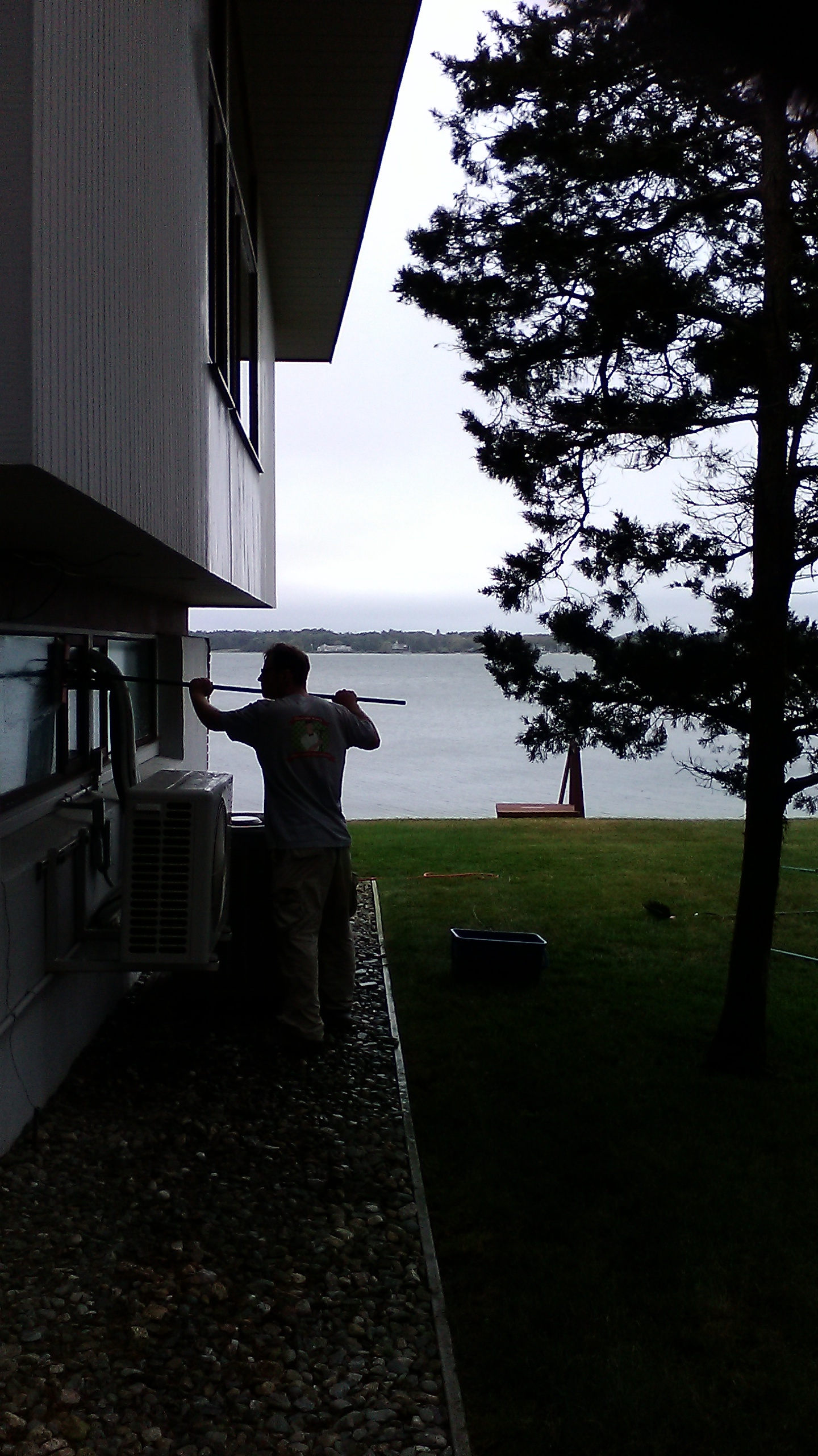 Window washing in Marion, Ma