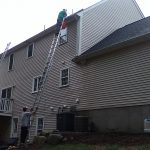 Gutter cleaning, Middleboro