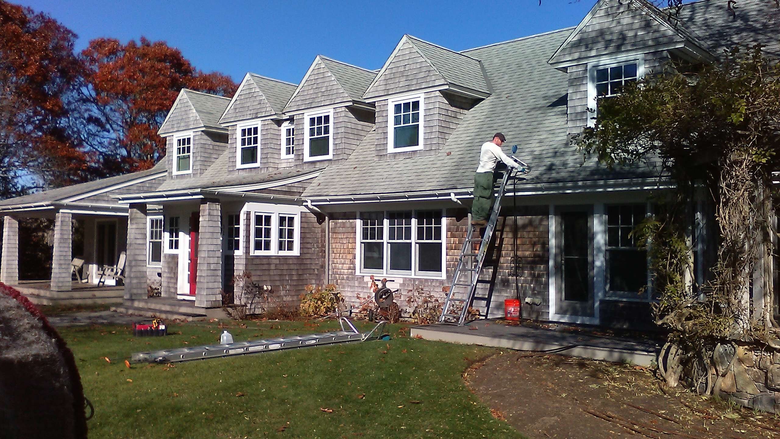 Gutter cleaning, Wareham