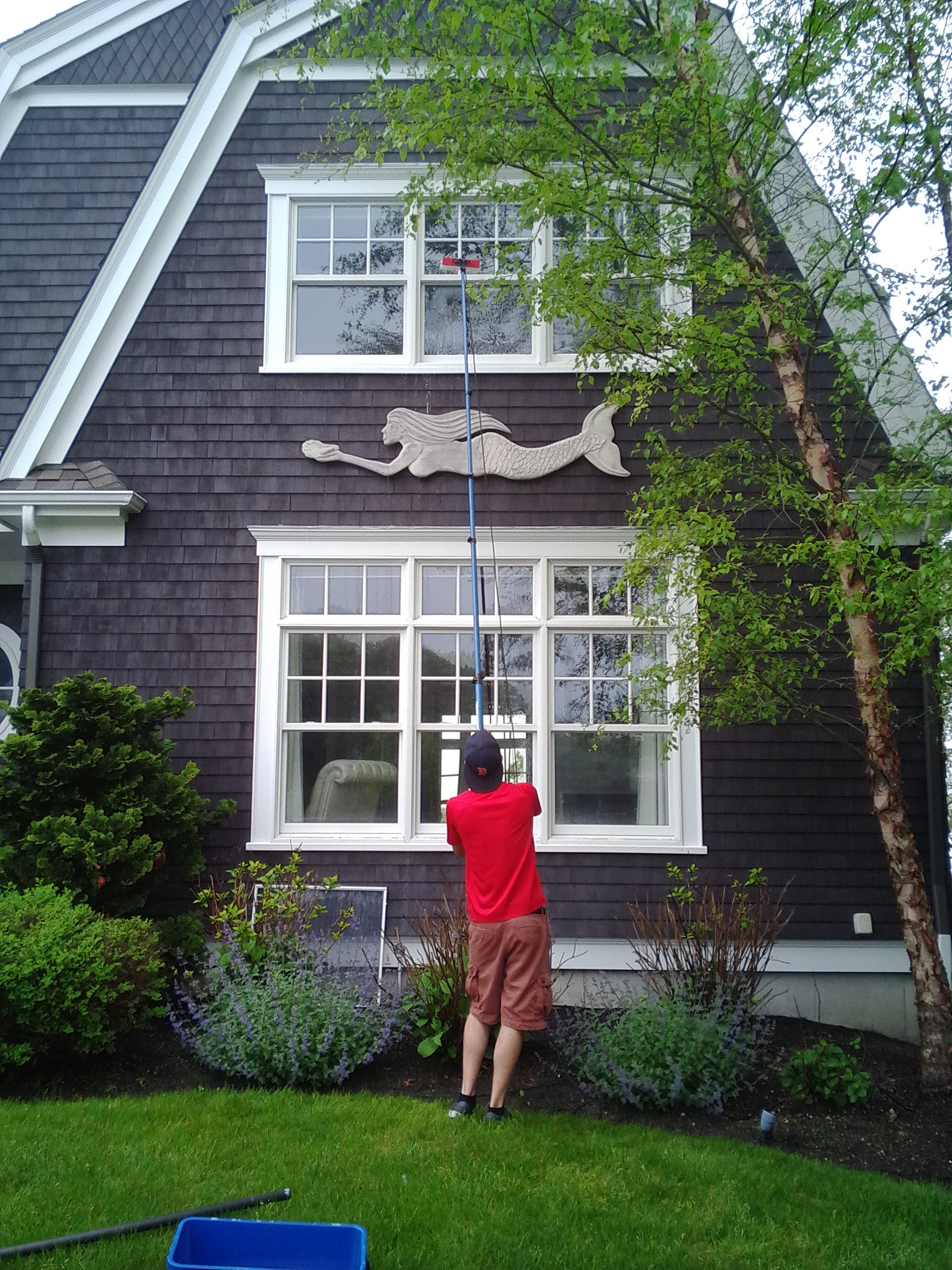 Falmouth window cleaning