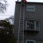 gutter cleaning on Cape Cod