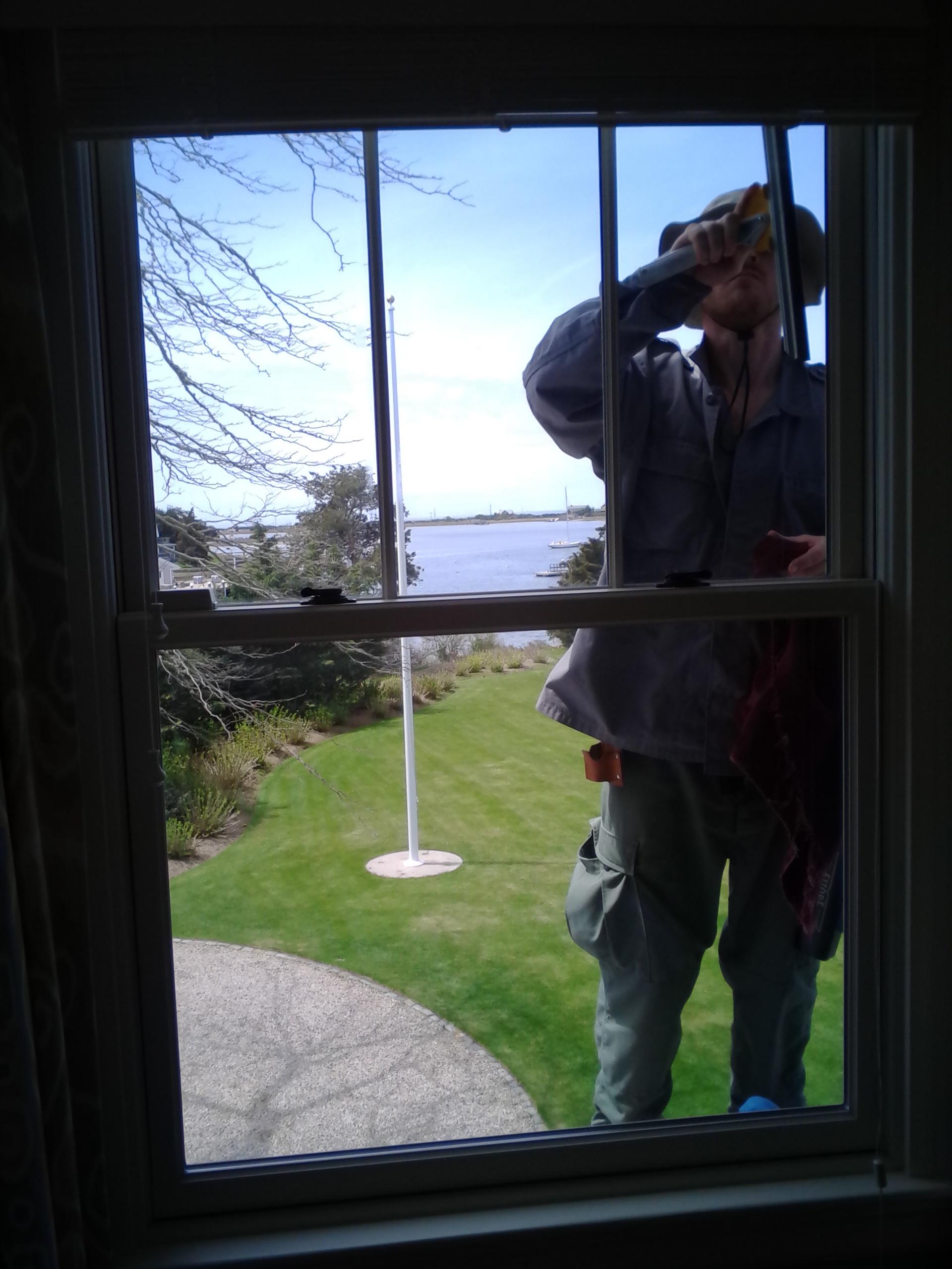 Falmouth window washing