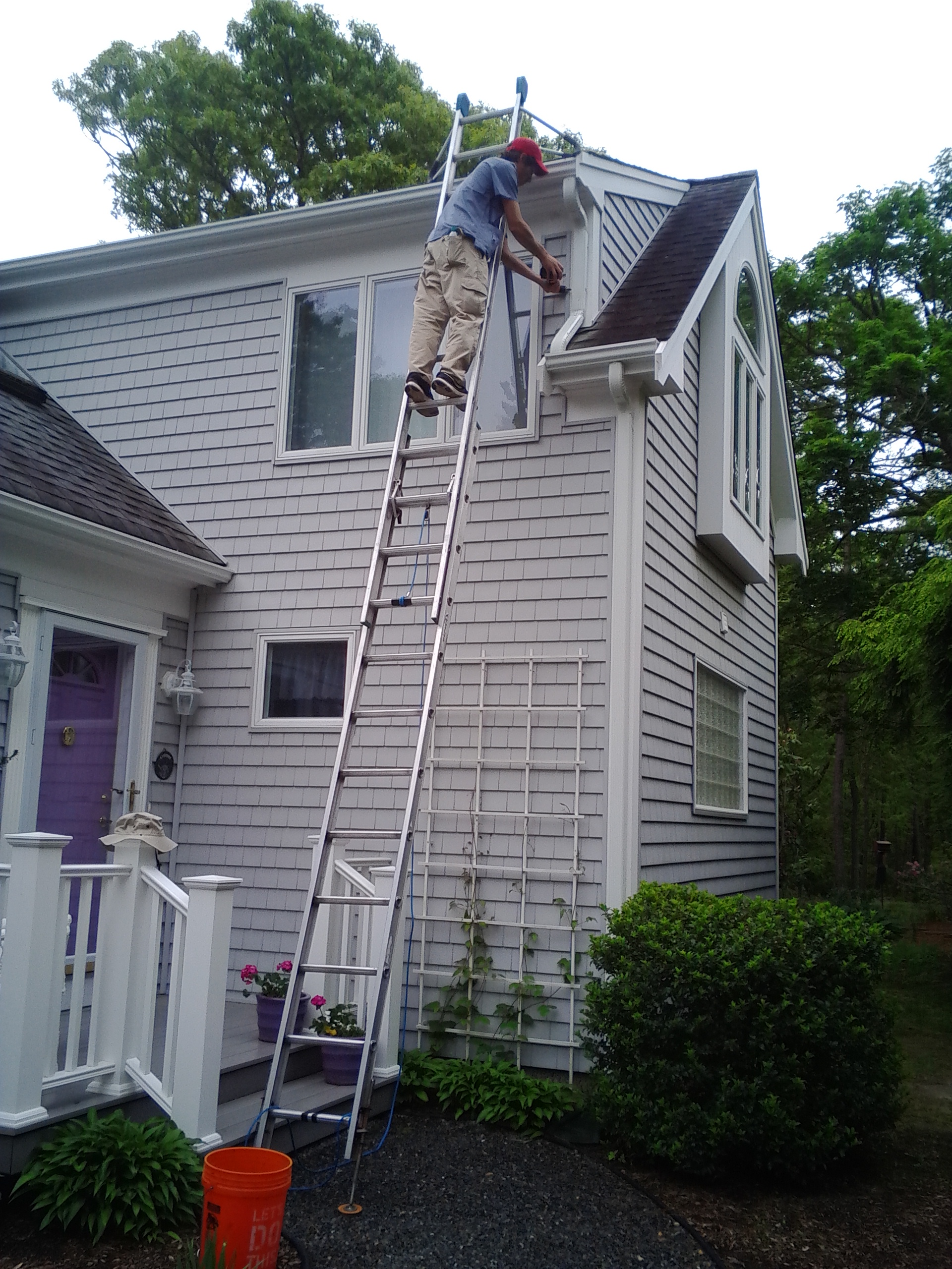 East Falmouth Gutter repair