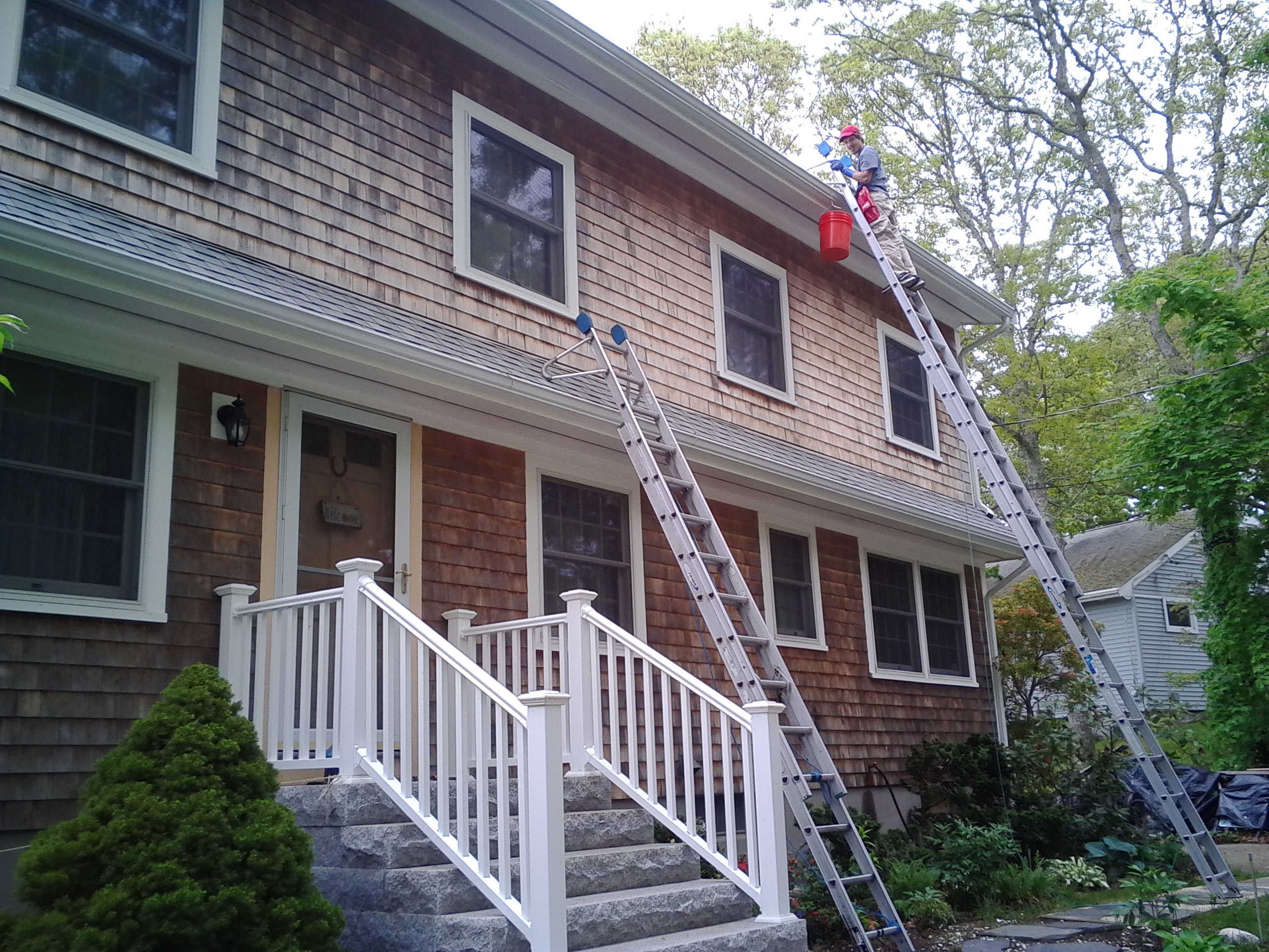 Falmouth gutter cleaning