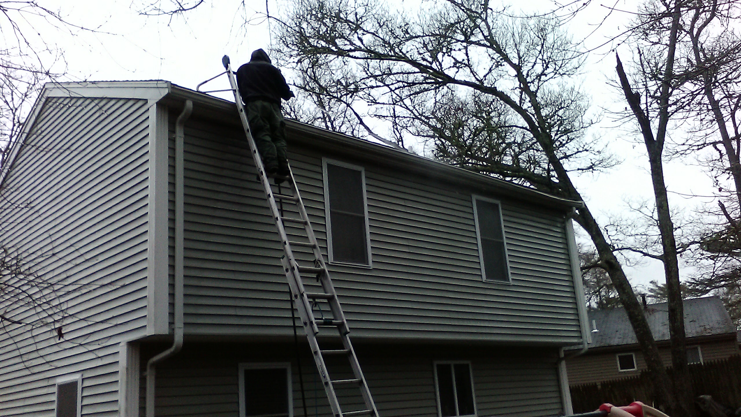 Plymouth gutter cleaning