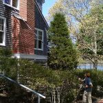 Window cleaning, Indian Neck, Wareham