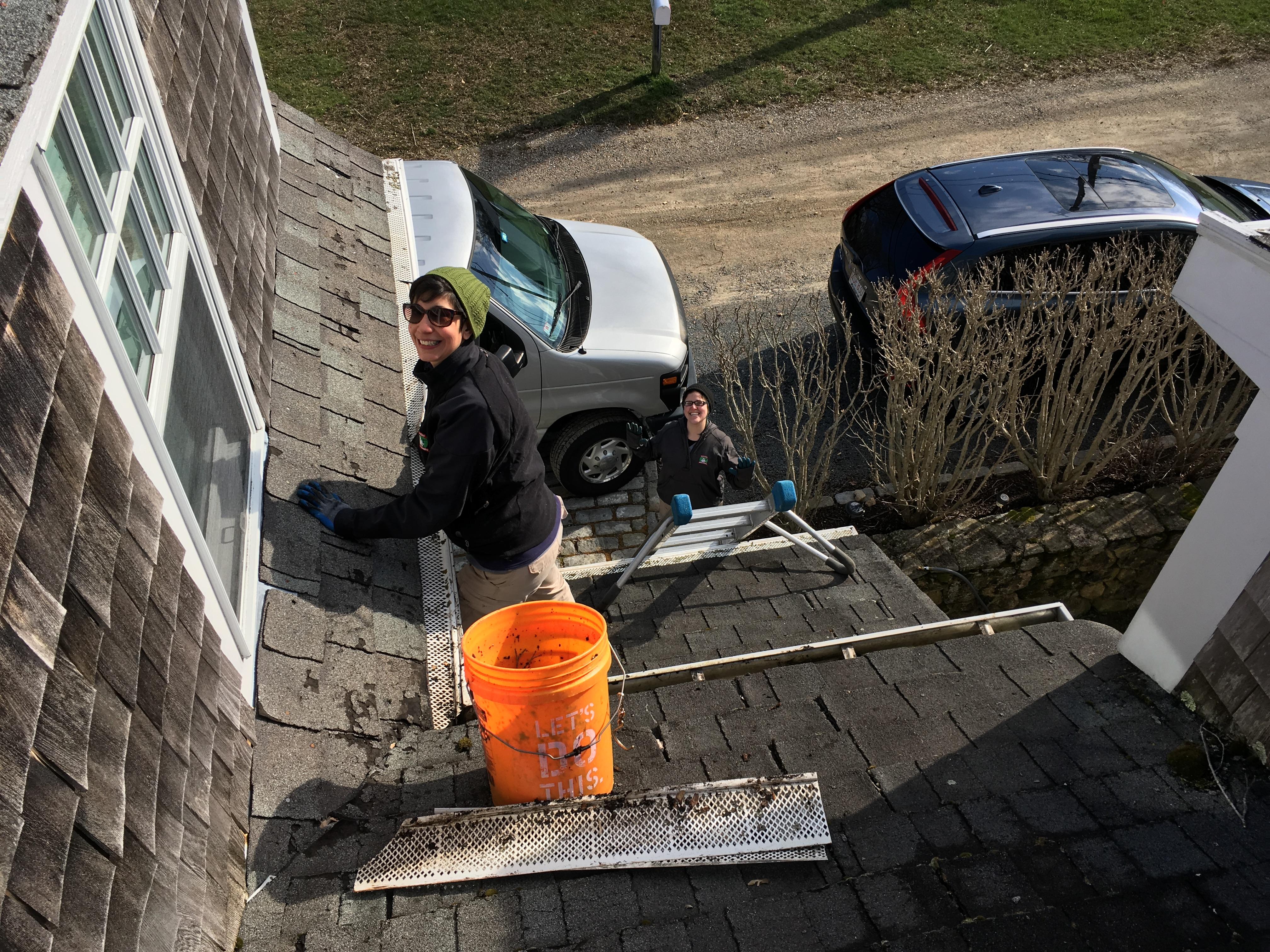 Mattapoisett gutter cleaning