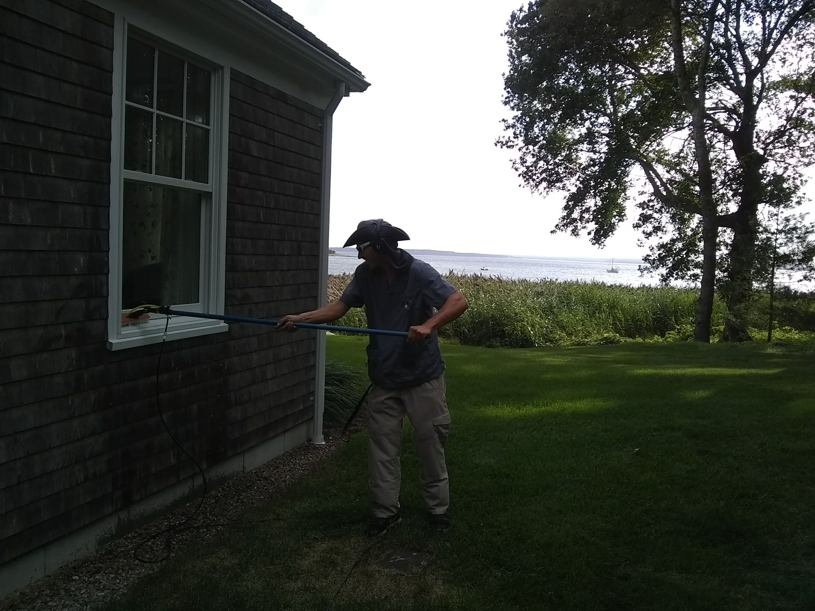 Marion waterfront window cleaning